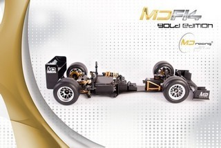 MD Racing MDF14 Formula One Kit 1:10 Gold Edition - Clicca l'immagine per chiudere